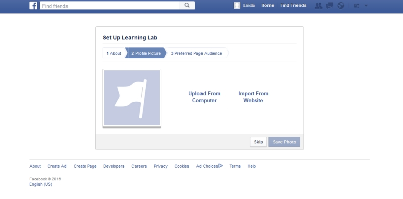 Set Up Facebook Business Page