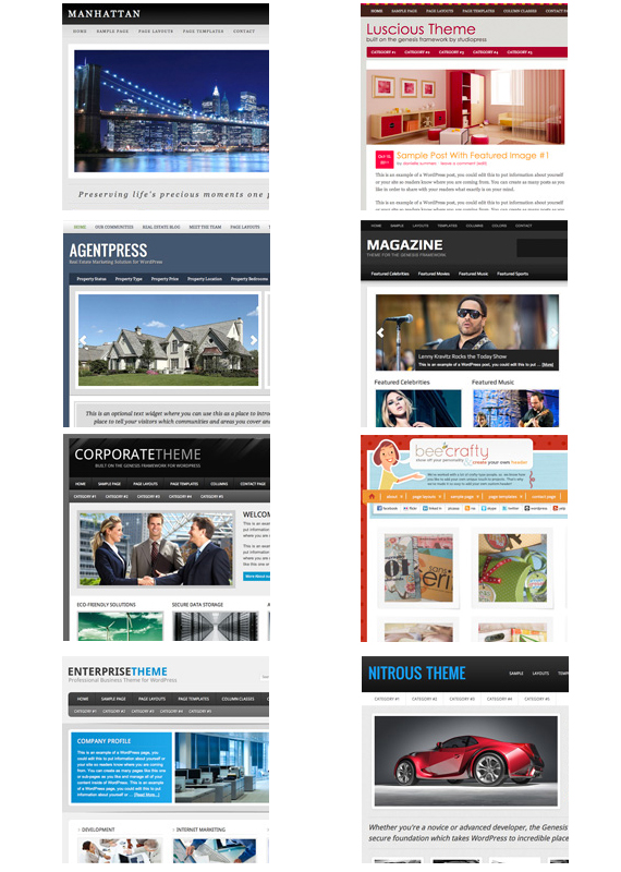 StudioPress - WP Themes