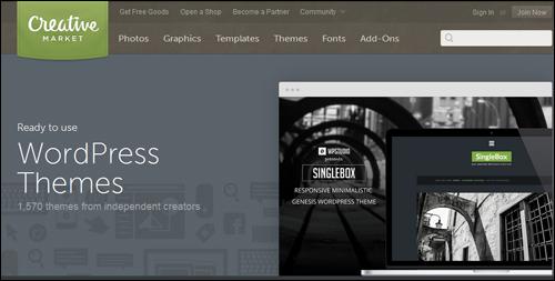 Creative Market - WP Theme Directory